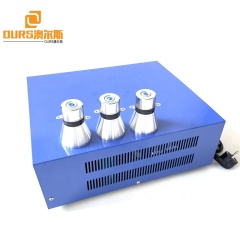 Voltage 110V-220V Cleaning Power Ultrasonic Generator 28KHZ 3000W For Driving Industrial Immersible Transducer Pack
