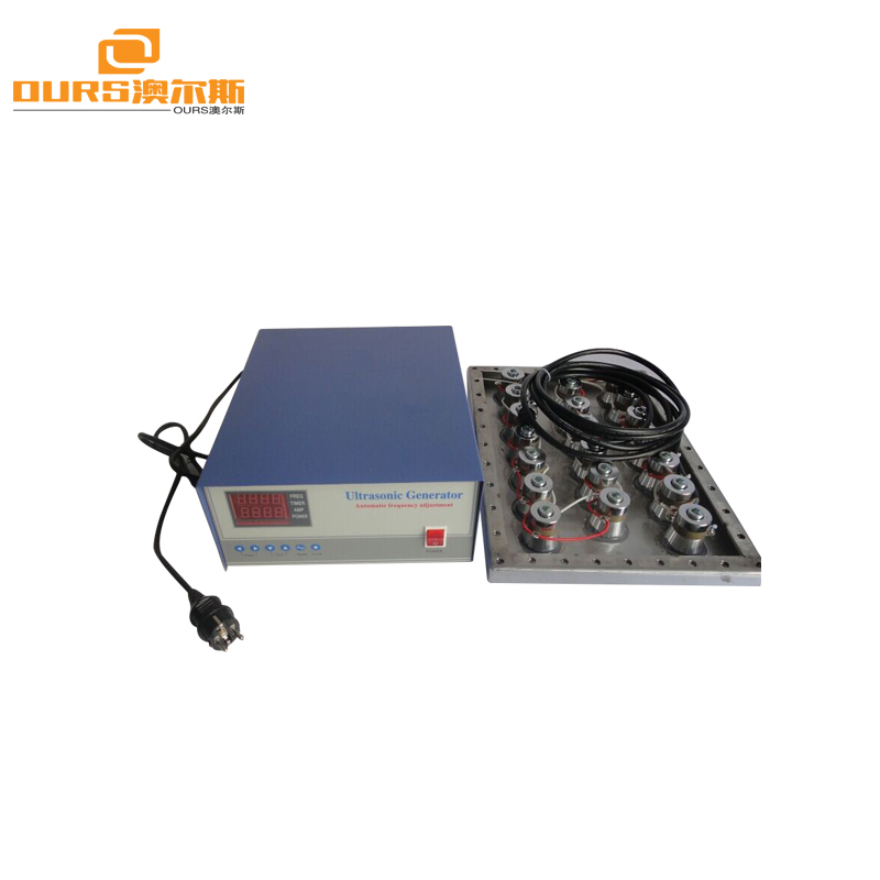 Flange Type Ultrasonic Immersible Transducer pack for cleaning tank