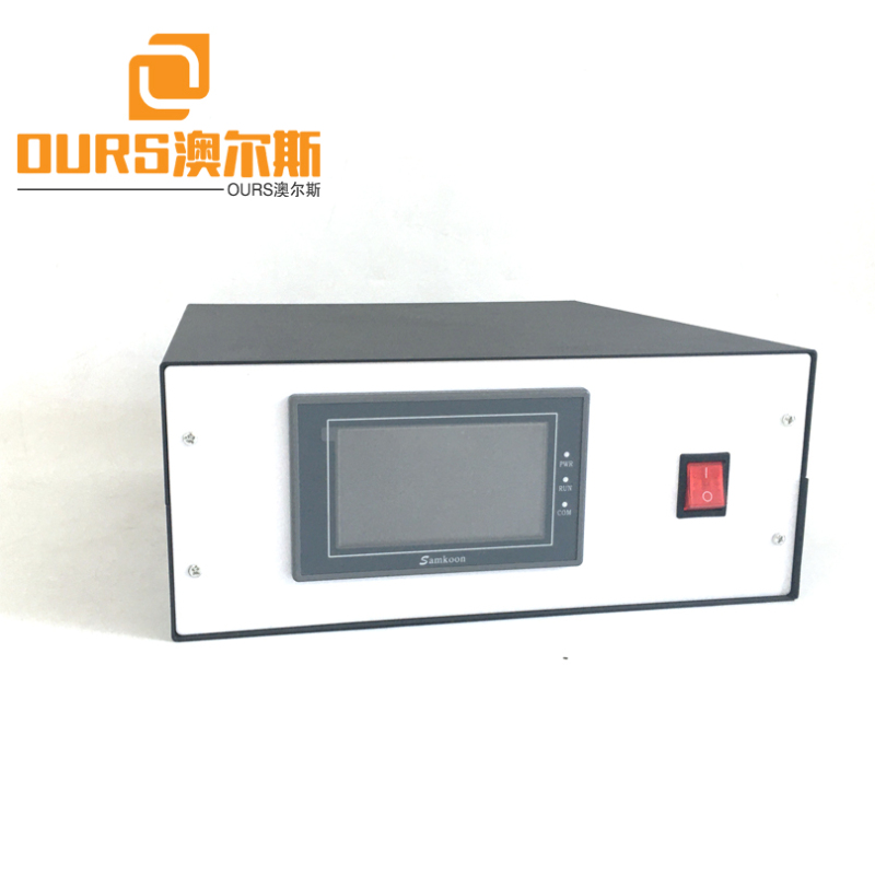 15KHZ/20KHZ no need adjust by manual Ultrasound Welding Generator And Transducer For Face Mask Ear Loop Welding Machine