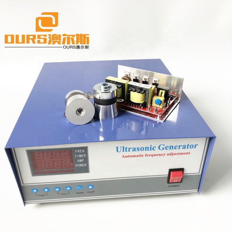 Leakage Protected Ultrasonic Cleaner Generator , 600W Power Ultrasonic Parts Cleaner