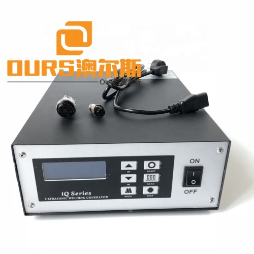 Factory Wholesale Medical Mask Ultrasonic  Sealing Machine 2000W Ultrasonic Welding Generator And Welding Transducer