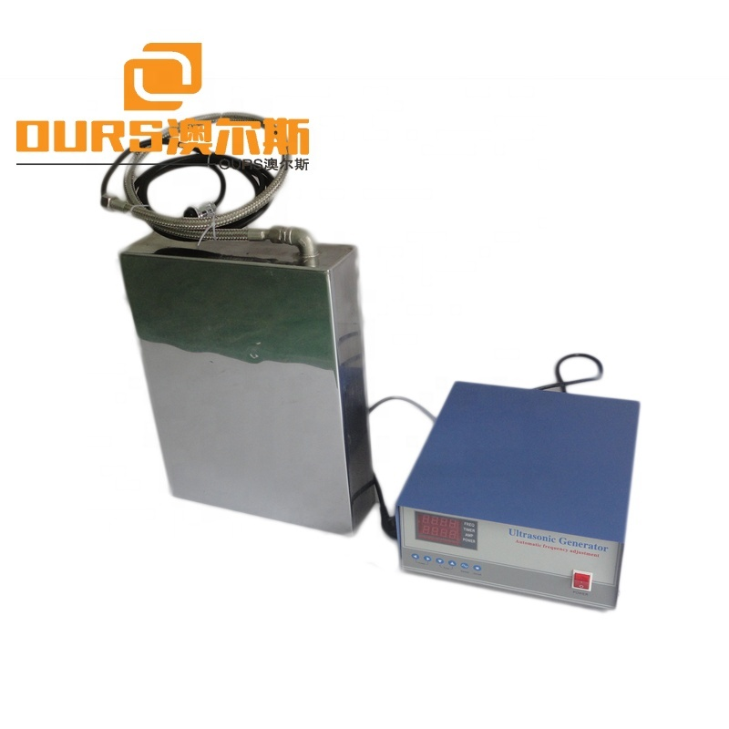 Low Heat Ultrasonic Underwater Cleaning Transducers 40K/100K Frequency Adjustable With 316L Stainless Steel Metal Case