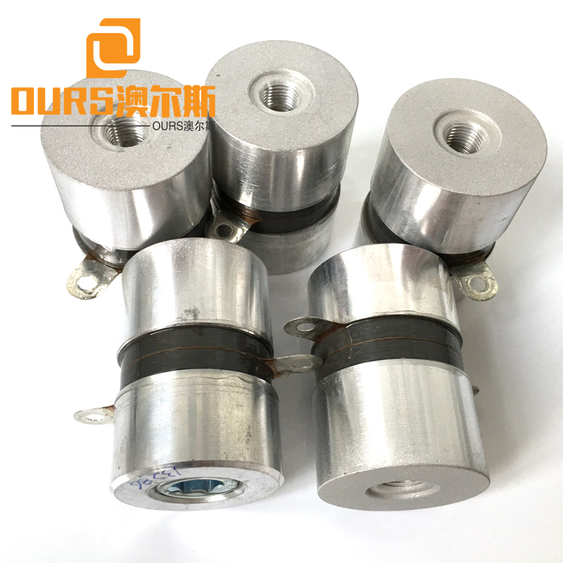 135khz 50w submersible underwater ultrasonic transducer for plating components cleaning