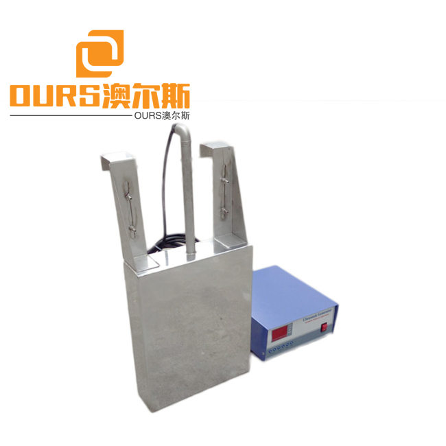 Waterproof Immersible Ultrasonic Transducer 40khz frequency cleaning equipment 2000watt power