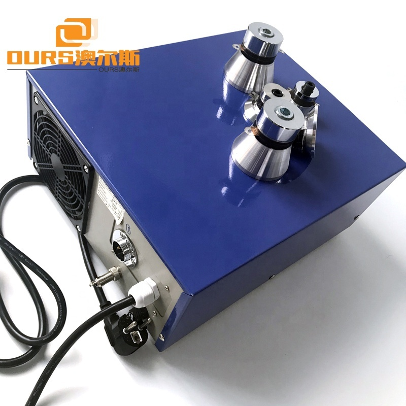 900W Ultrasonic Sound Generator 25/28/33/40KHz Frequency Adjustment In Cleaning Equipment Part