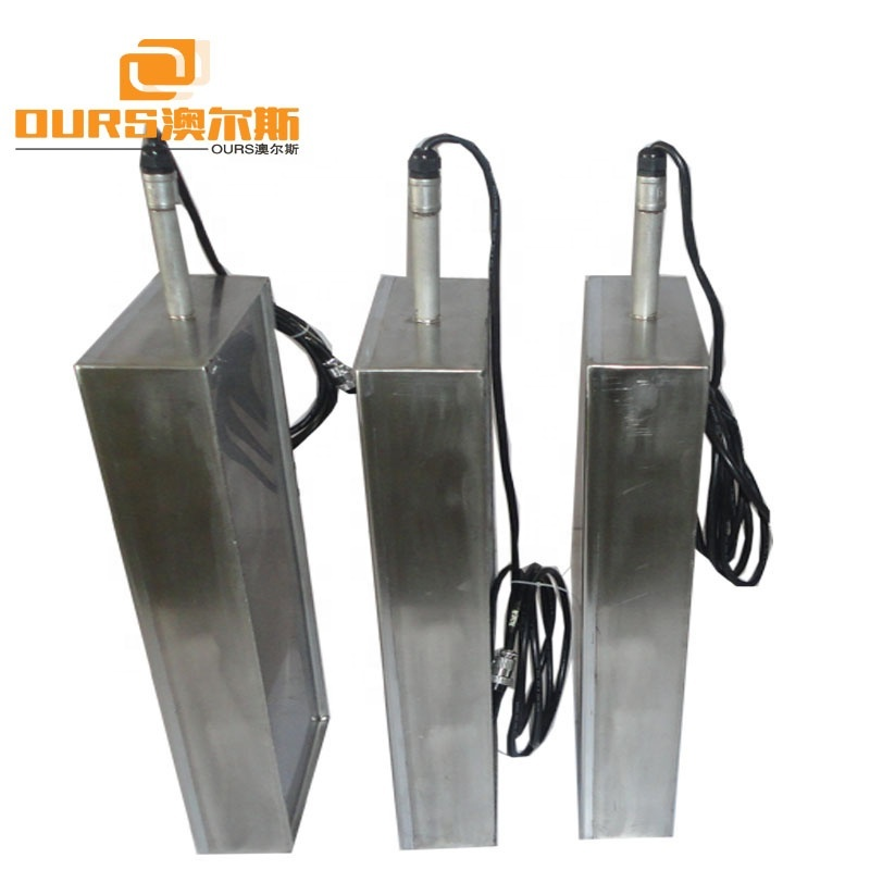 600W SUS316 Stronger Power Submersible Ultrasonic Transducers With Rigid Tube / Flexible Hose