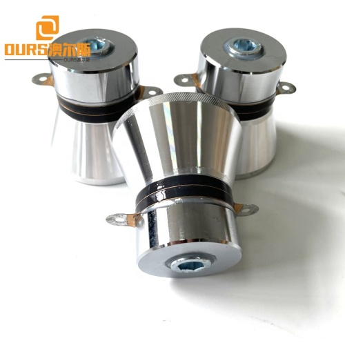 100Watt Power Ultrasonic Piezoelectric Converter Element Used In Water Cleaning Tank