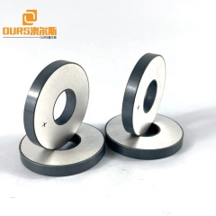 Pzt4 Size 38x15x5mm Ultrasonic Sensor Piezoelectric Ceramic Ring As Cleaning Transducer Raw Wafer Materials
