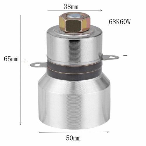 68Khz 60W   ultrasonic transducer HIGH frequency piezoelectric transducers ARS-QXHNQ6860 PZT-8