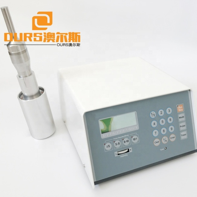 sonicator ultrasonic processor 20khz with Ultrasonic Processor Sonicator Producer