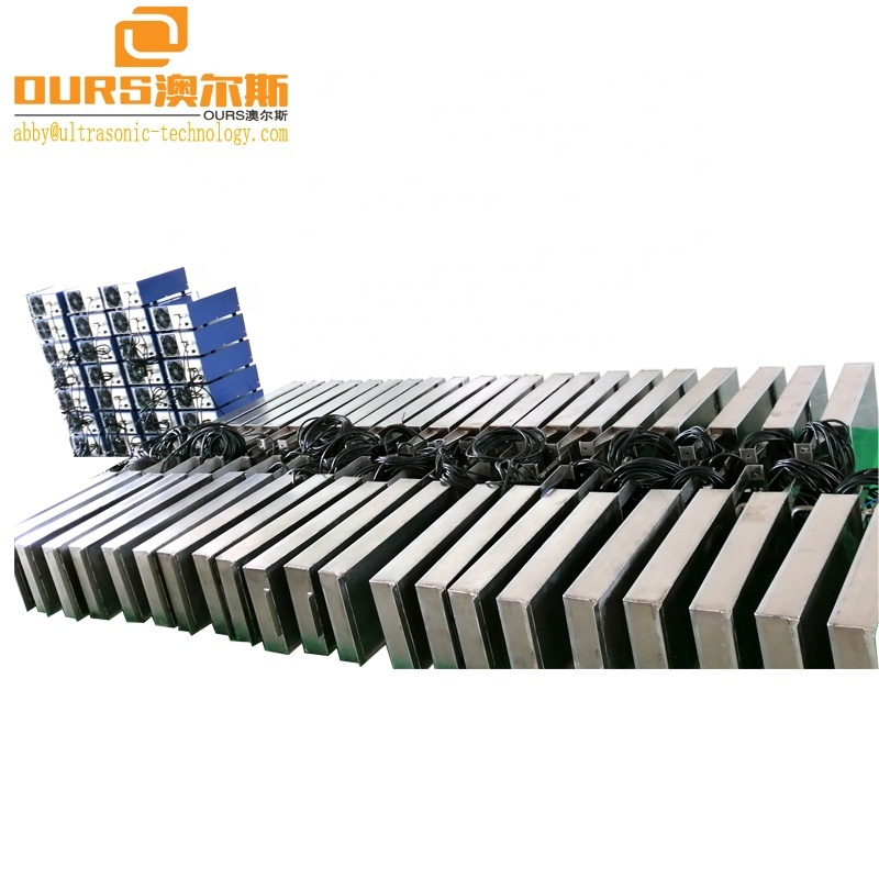 300W Submersible Ultrasonic Transducers Pack Transducer Array/Submersible Ultrasonic Transducer For Components Cleaning
