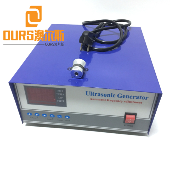 Low Frequency Ultrasonic Cleaning Generator 17KHZ 1200W For Cleaning Stainless Steel Plate