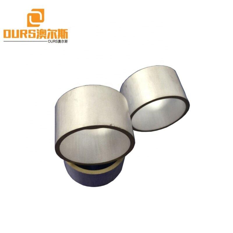 Lead Zirconate Titanate Piezoelectric Material P8 Tube Piezo Ceramics 24x22x26MM Used In Ultrasonic Transducer