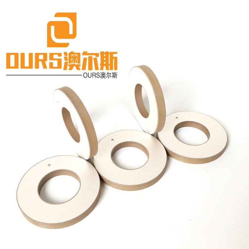 Piezoelectric Material PZT-8 Ring Piezo Ceramic OD50*ID17*5mm For 15khz/20khz ultrasonic welding transducer