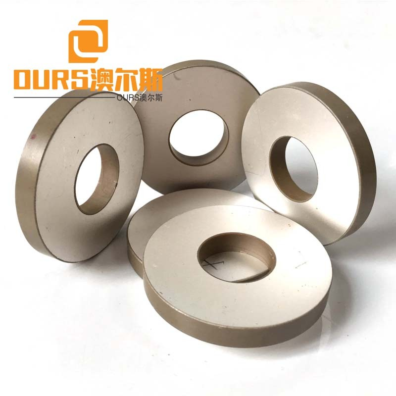 Approved OD50*ID17*5mm PZT8 piezo ceramic ring for industry machine cleaning
