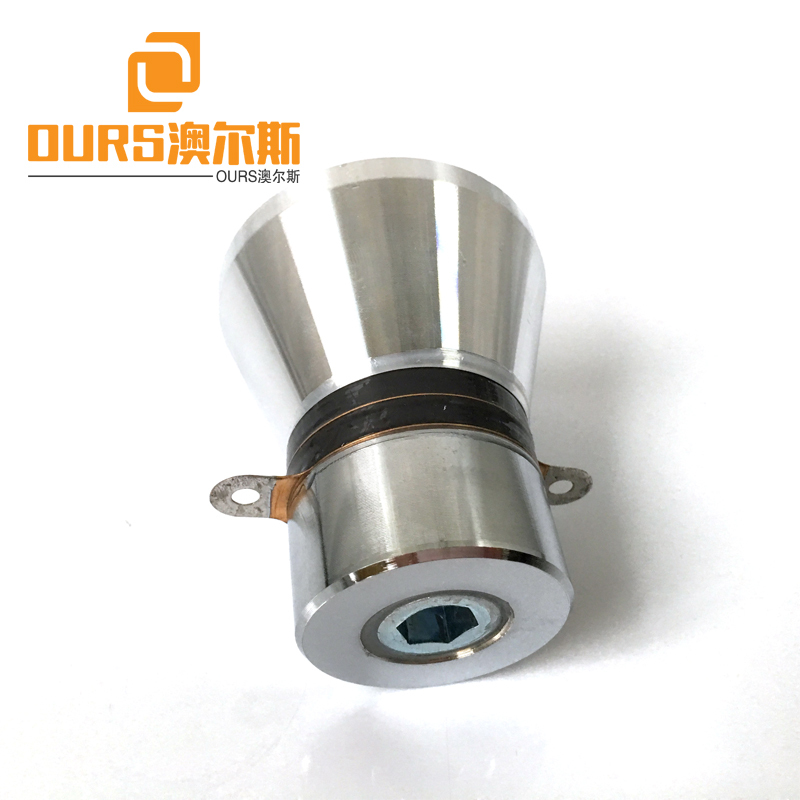 28KHZ 60W Korea Dishwasher Ultrasonic Cleaning Transducer With Hole For Ultrasonic Cleaning