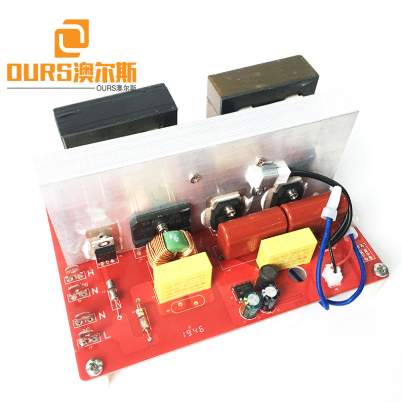 600W Ultrasonic Transducer With Generator For Cleaning Strap