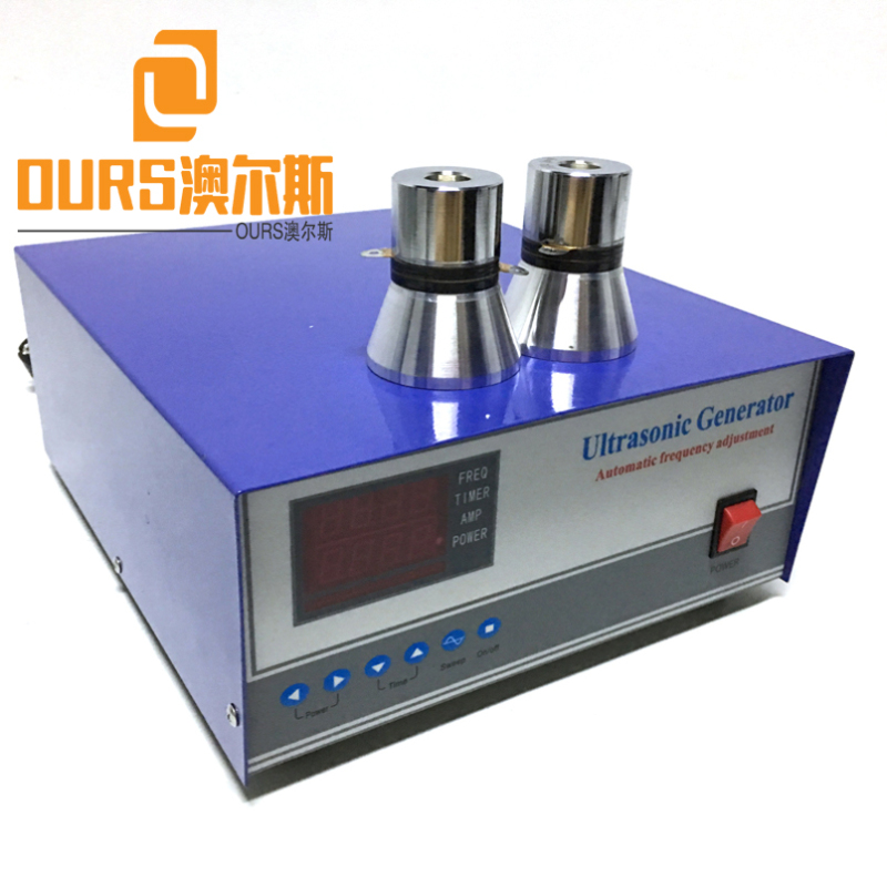28KHZ/40KHZ 2000W Digital Ultrasonic Vibration Generator For Automatic Ultrasonic Cleaning Equipment