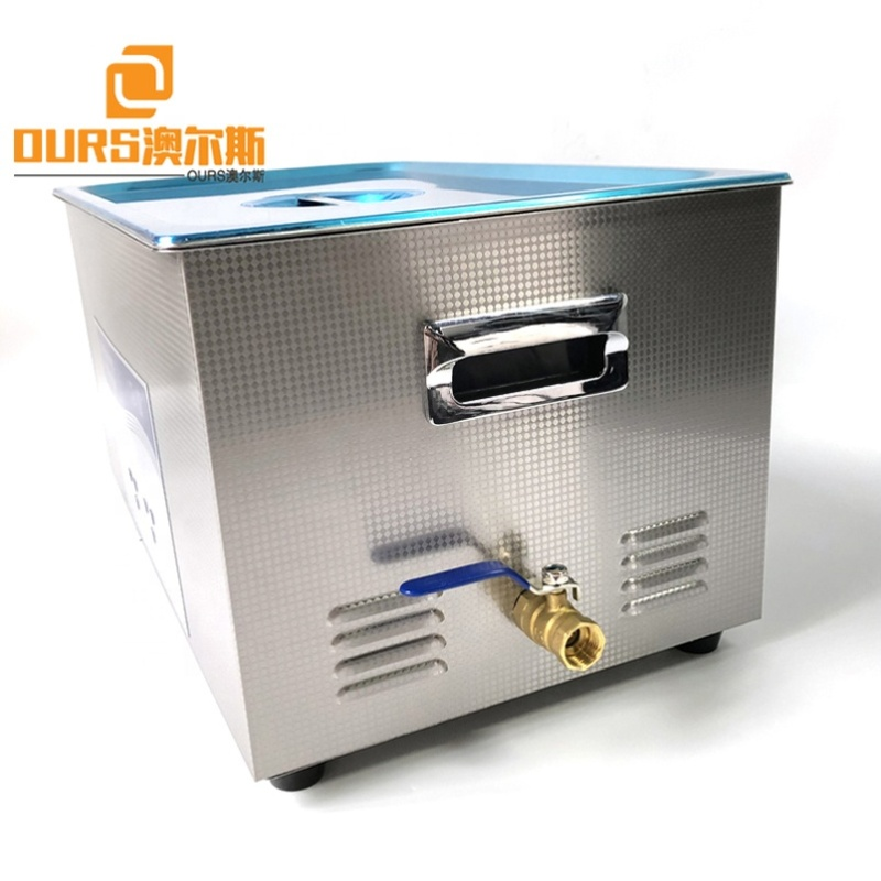Firearms / Bullet Ultrasonic Gun Cleaner Stainless Steel With Baskets 40KHZ Made By Cleaning Sensor And Power