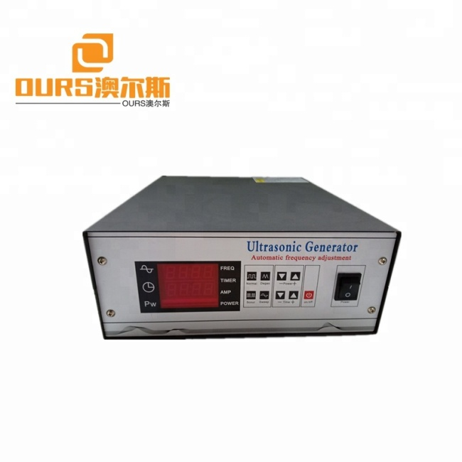 New Arrival Digital Ultrasonic Generator have Different wave vibration optional and degas 300W-3000W