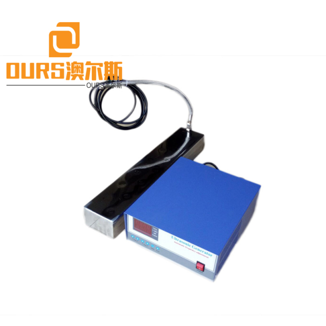 China factory produced 28KHZ 600W Immersible Ultrasonic Transducer box For Washing Parts
