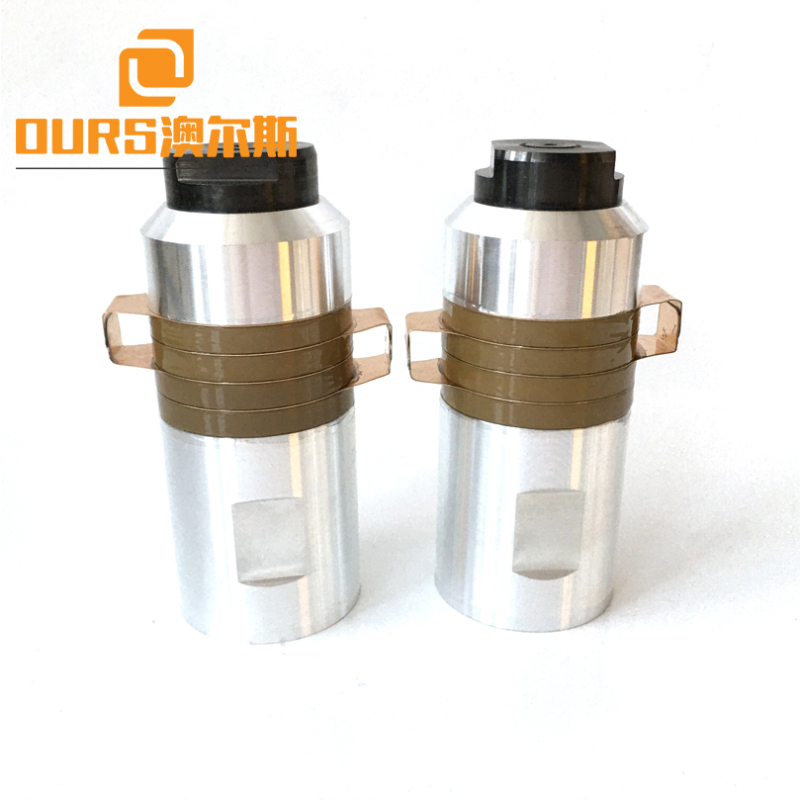 2000W 20KHZ PZT8 Ultrasonic welding Oscillator Without Booster For Ultrasonic Nonwoven Equipment