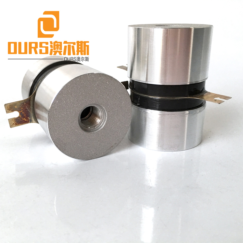 130KHz 50W PZT4 High Frequency Ultrasonic Cleaner Transducer For Piezoceramic Ultrasonic Cleaner