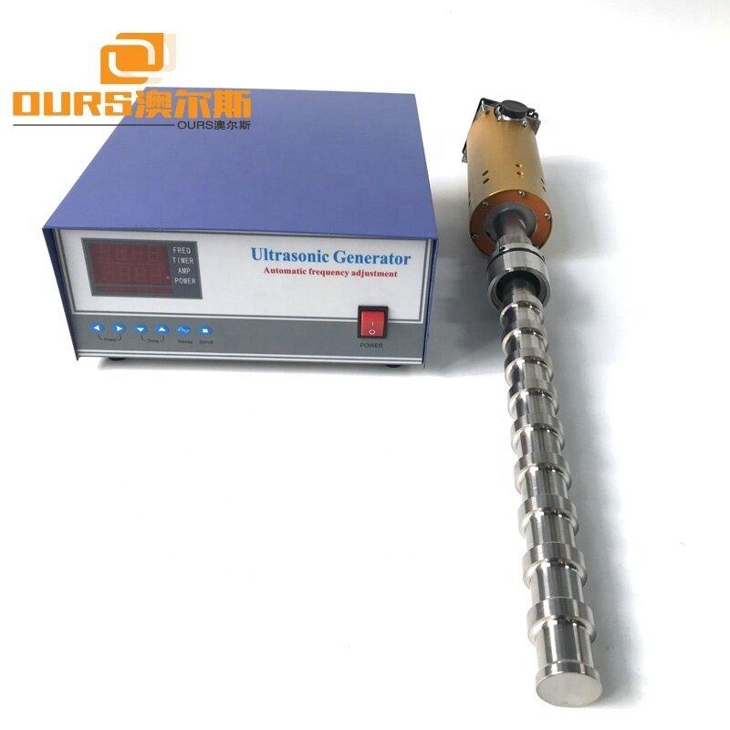 20KHz Ultrasonic Tube Reactor 2000W Ultrasonic Water Treatment Processor For Ultrasonic Liquid Processor US Equipment