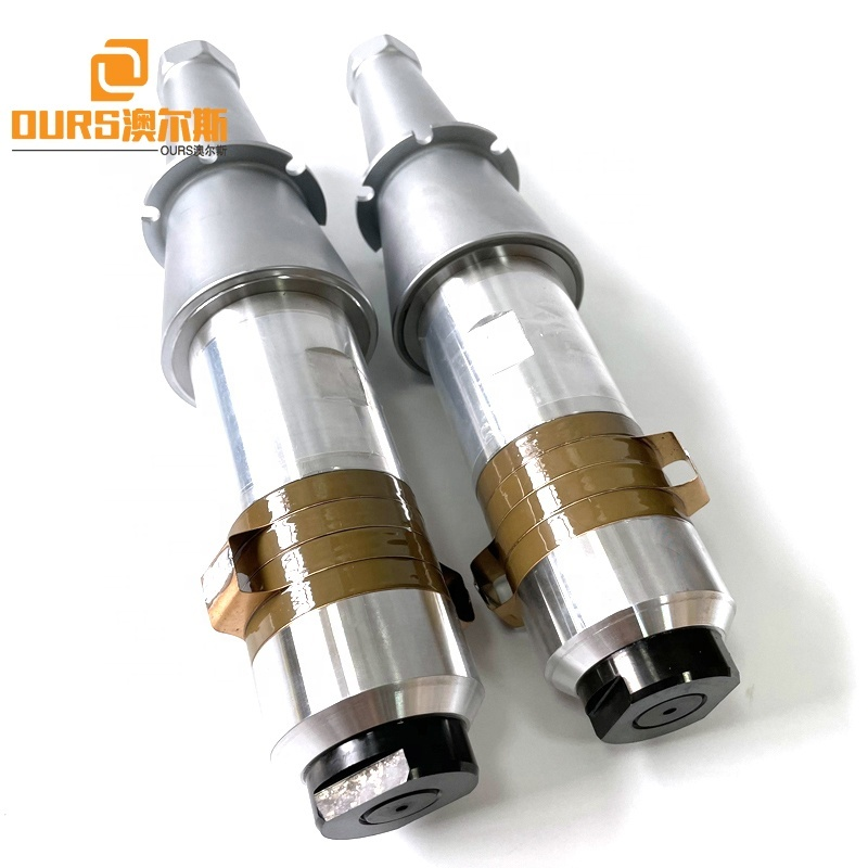 15K 2000W 2600W PZT8 Ceramic Ultrasonic Sensor Booster For Industrial Welder