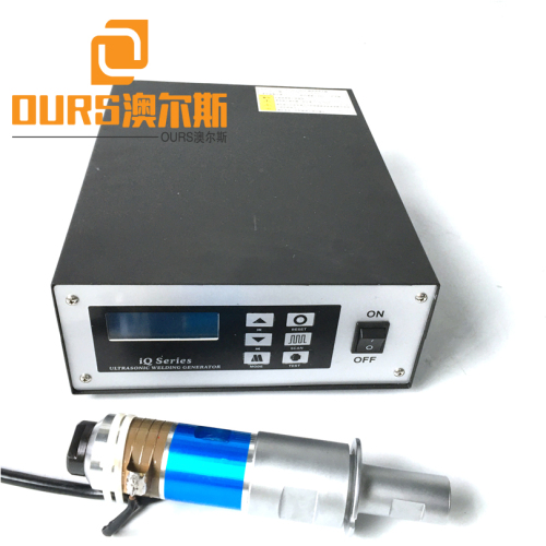 high efficiency ultrasonic welding generator with transducer for welding machine