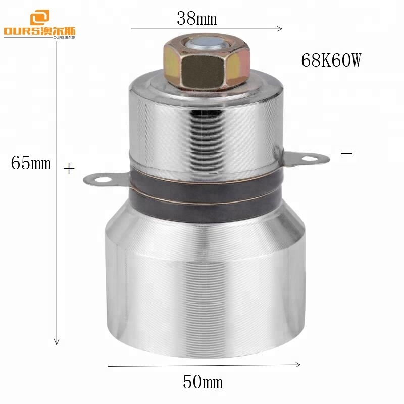 For Cleaning System Ultrasonic Cleaning Machine Transducer  60W 28KHZ