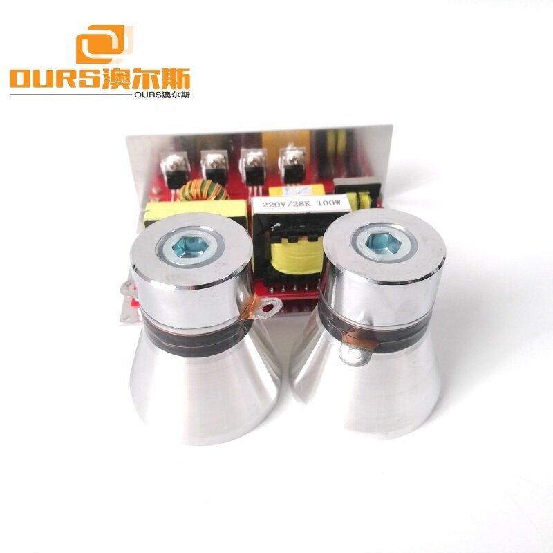 100W Ultrasonic Oscillator Circuit Board With 40KHz Piezoelectric Ultrasonic Transducer Converter