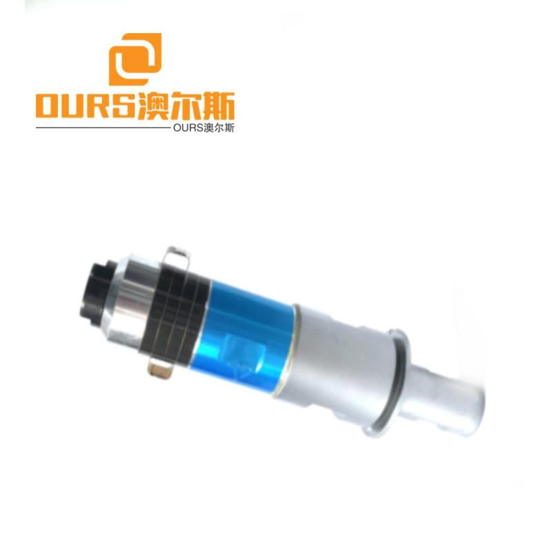 2000w ultrasonic sewing and welding ultrasonic transducer With Titanium Booster  For mask Sewing 20khz