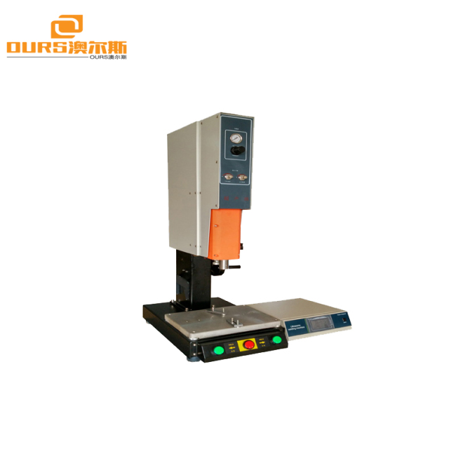 Desktop Ultrasonic Plastic Welding Machine 15khz Frequency 4200W