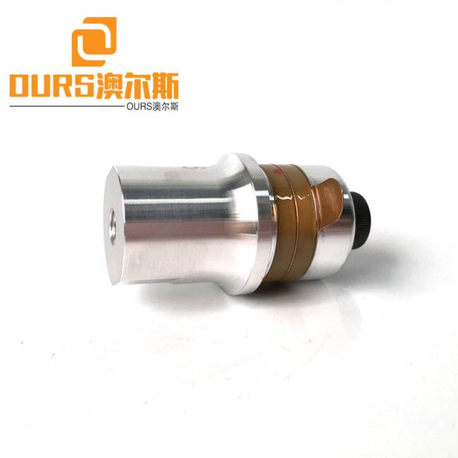 40KHZ 100W Ultrasonic Welding Piezoelectric Transducer Without Booster For Ultrasonic Welding