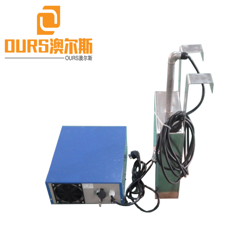 25KHZ/28KHZ Different Sizes Immersible Ultrasonic Transducers Plate With Generator Ultrasonic Cleaning Tanks