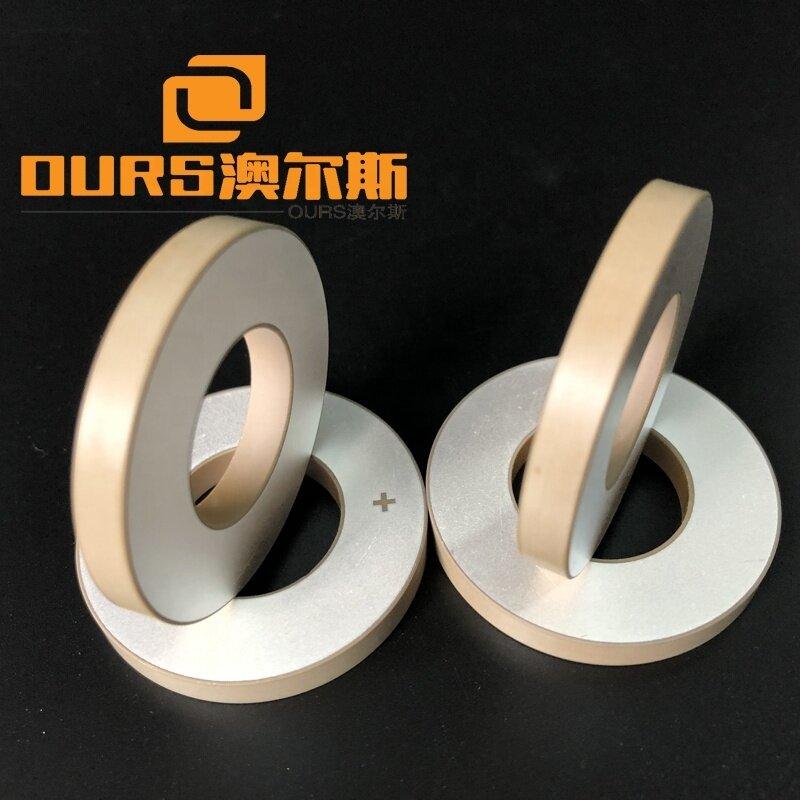 PZT4/PZT8 Ultrasonic Vibration Piezoelectric Ceramic Ring 40x20x5mm for Piezo Transducer Instruments