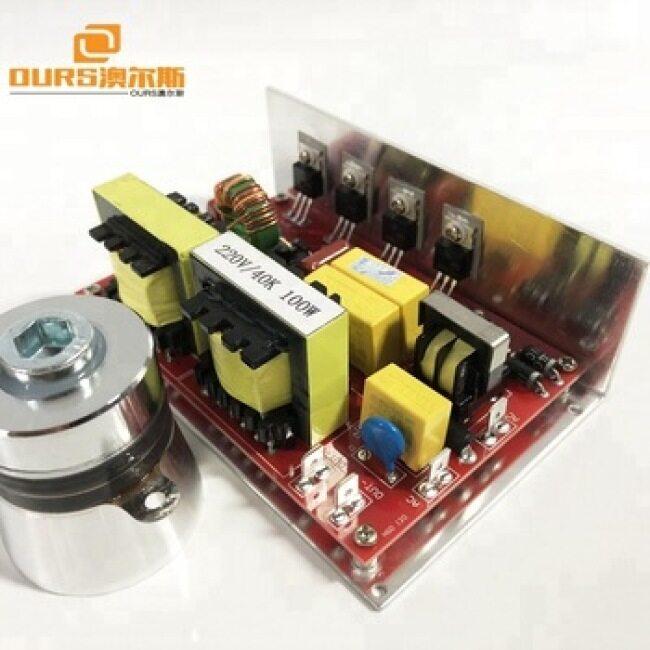 100watt  manufacturer Ultrasonic PCB  with 1 transducers 28khz