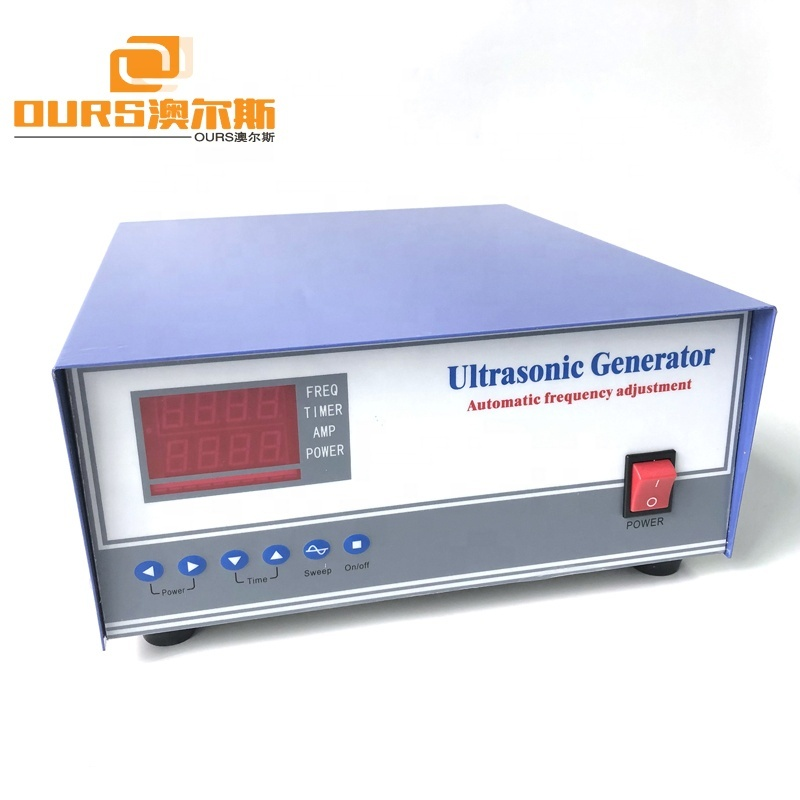 28KHz 3000W Sonic Power Ultrasonic Cleaning Generator For Immersible Ultrasonic Cleaner System