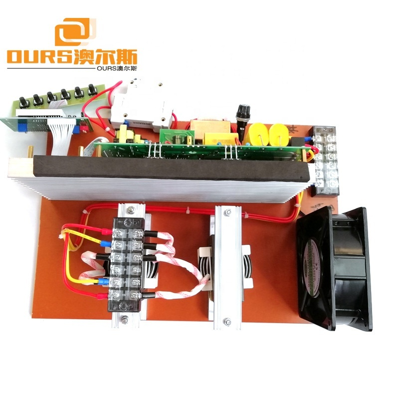 120KHz High Frequency Ultrasonic Generator Driver PCB Board 300W Piezoelectric Transducer Circuit