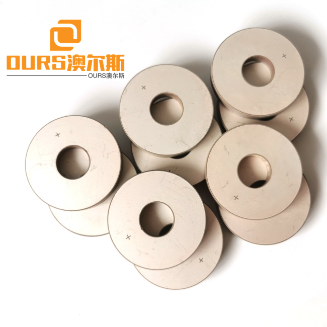 25*10*4mm Ultrasonic Piezo Ceramic Rings Use in Ultrasonic Cleaning and Welding Transducer