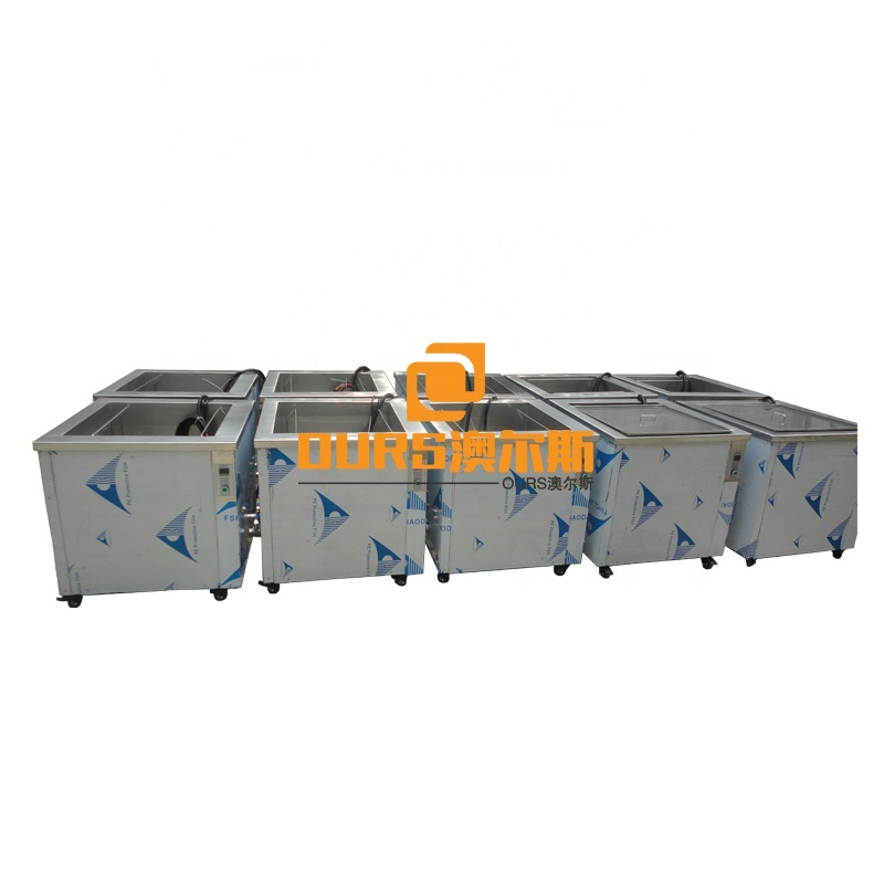 28KHZ 50L-1000L  Industrial Ultrasonic Cleaning Machine For Clean Auto Parts DPF All Type Marine Diesel Engines