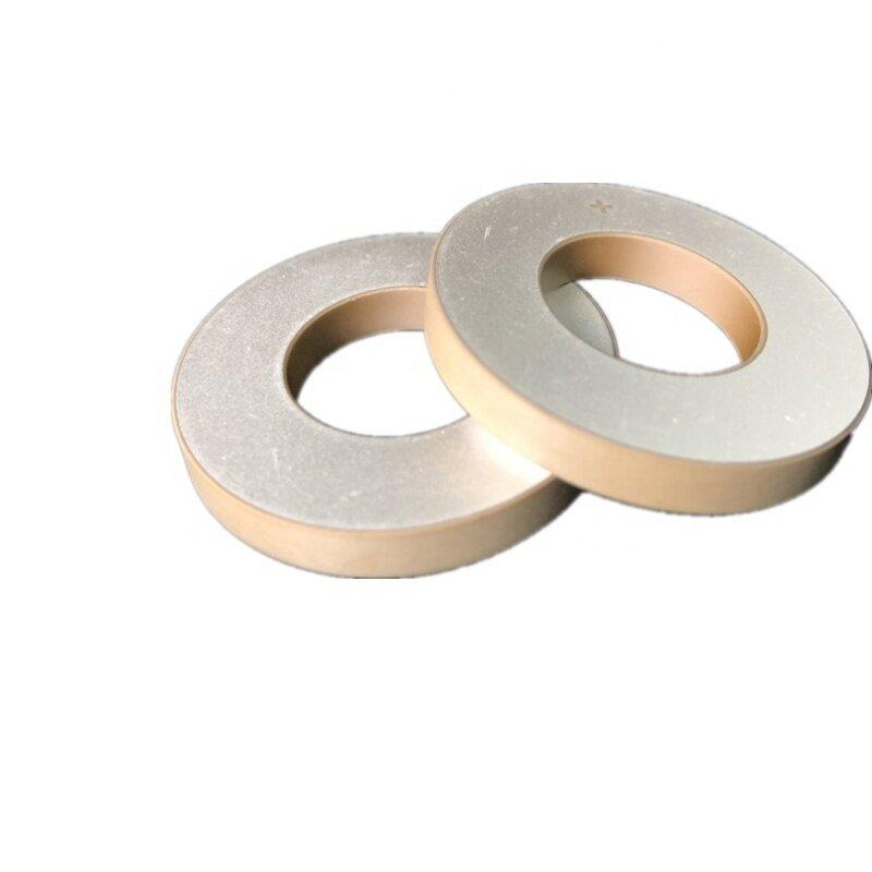 Acoustic Electronic Components Ultrasonic Sensor Pzt 8 Material Ring Type Piezoelectric Ceramic 40x20x5MM Ultrasonic Ceramic