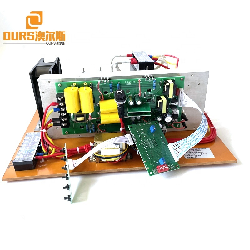 Frequency And Power Adjust25K 28K 33K 40K Ultrasonic PCB Generator Used In Automobile Shops Plant Motor Parts Cleansing Oil Rust