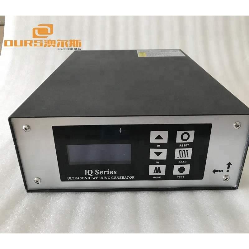 15KHZ 1500W Ultrasonic Welding Generator for Nonwoven Fabrics Welding with transducer and booster