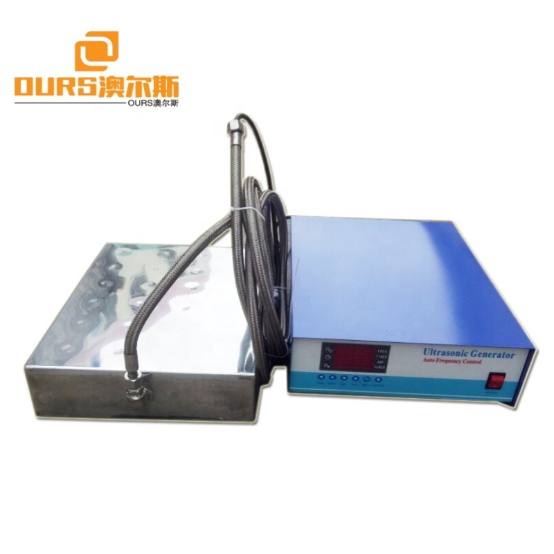 300W Metal parts industrial submersible cleaning ultrasonic transducer Immersible ultrasonic transducer and generator