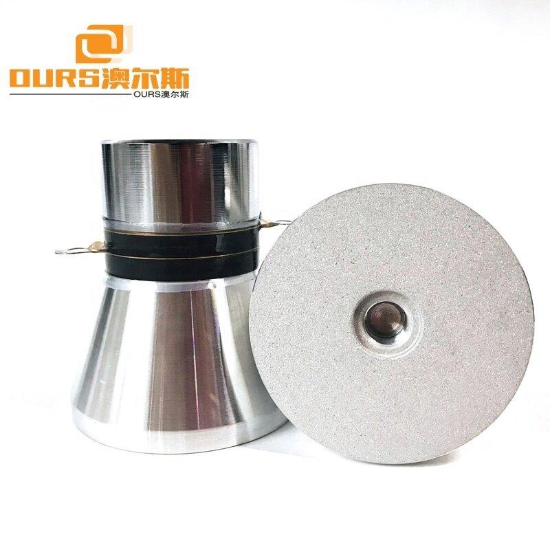 Piezoelectric Ceramic Ultrasonic Transducer PZT-4 28KHz 60W Ultrasonic Transducer for Industrial Cleaning