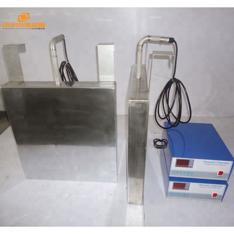 High efficiency Ultrasonic Immersible Transducer Pack Variable Frequency 25k, 28k, 33k, 40k, 80k, 130k