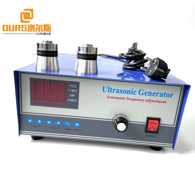 1200W 28KHZ Frequency Adjustable Ultrasonic Vibration Generator With CE For Industrial Electroplating Factory Cleaning Machine
