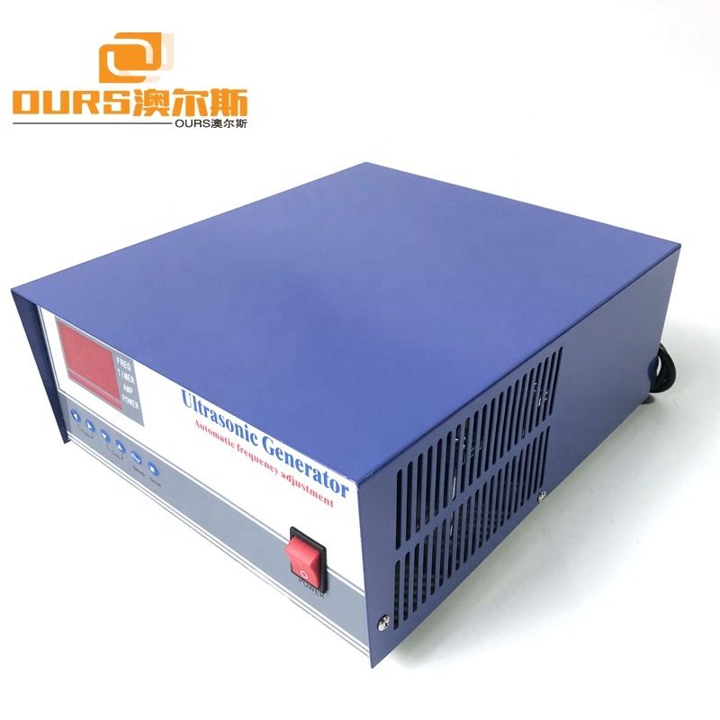 300W-3000W Power Optional Ultrasonic Generator Frequency Adjustment For Industrial Ultrasonic Cleaner